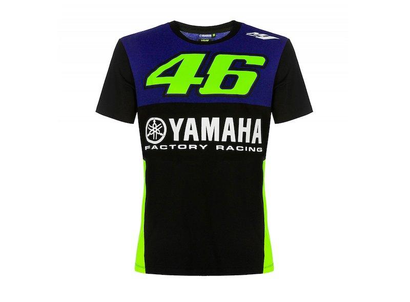 Yamaha Valentino Rossi 46 T-shirt - White