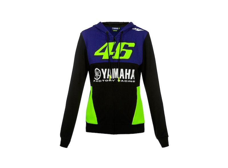 Yamaha Rossi Woman's Sweatshirt - White