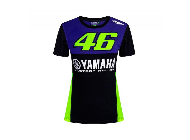 T-shirt donna Yamaha VR46 Rossi - White