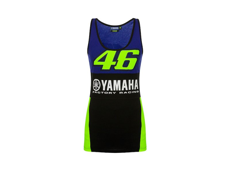 Yamaha Rossi Woman's T-Shirt - White