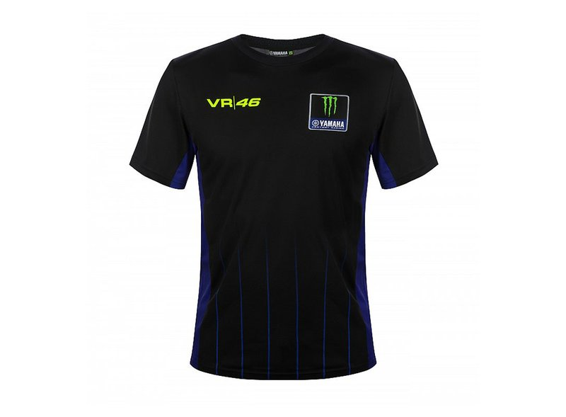 Camiseta Rossi Monster Yamaha Black VR46 - White