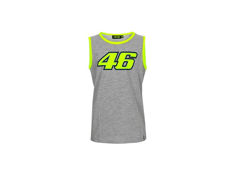 Rossi VR46 Tank Top Kid - White