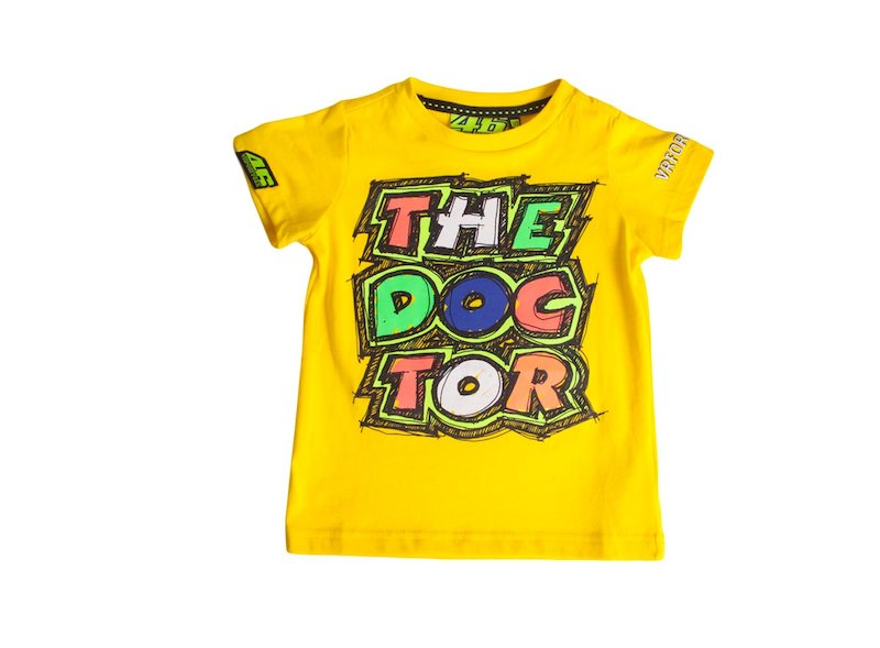 T-shirt Rossi The Doctor Enfant - White