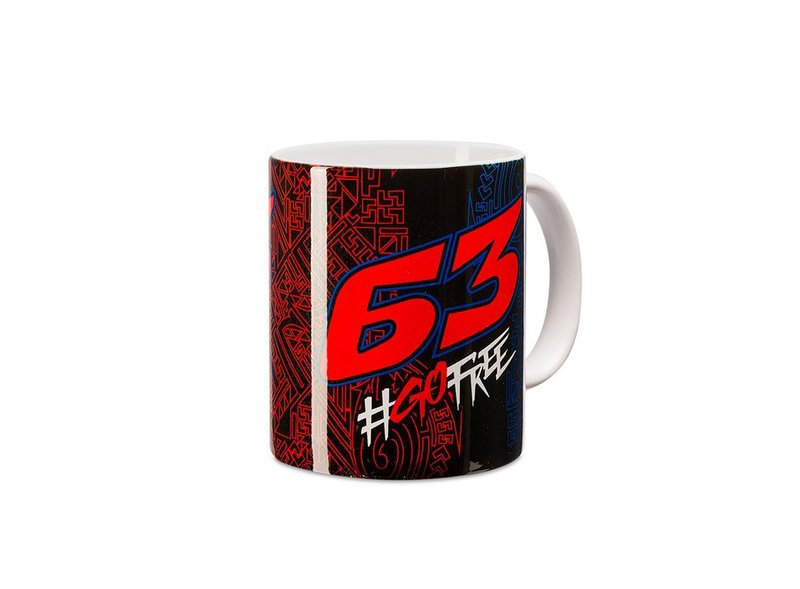 Pecco Bagnaia 63 Mug