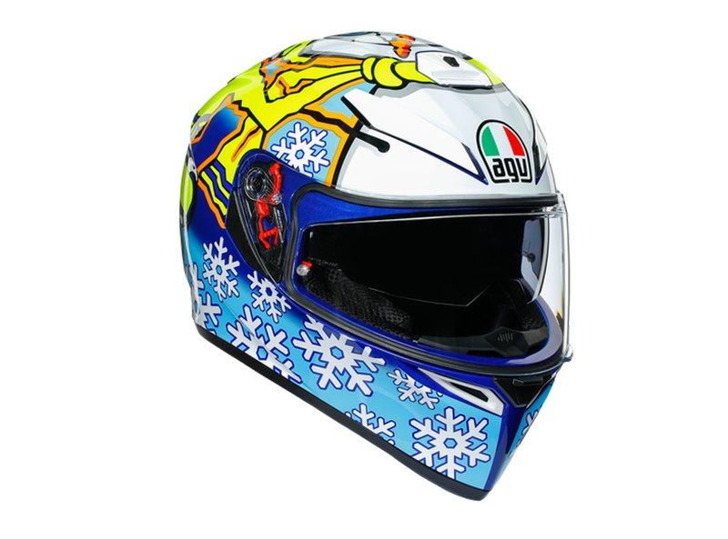 Casque AGV K-3 SV Rossi Winter Test 2016 - Black