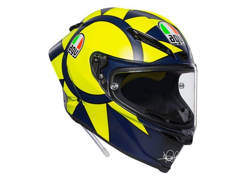 Casco AGV Pista GP RR Rossi Soleluna 2019 - Black
