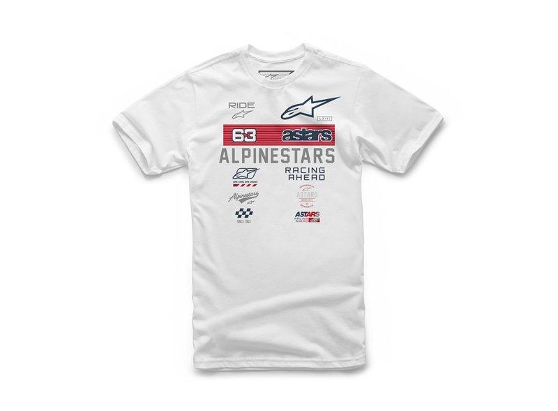 T-shirt Alpinestars Esponsor blanc