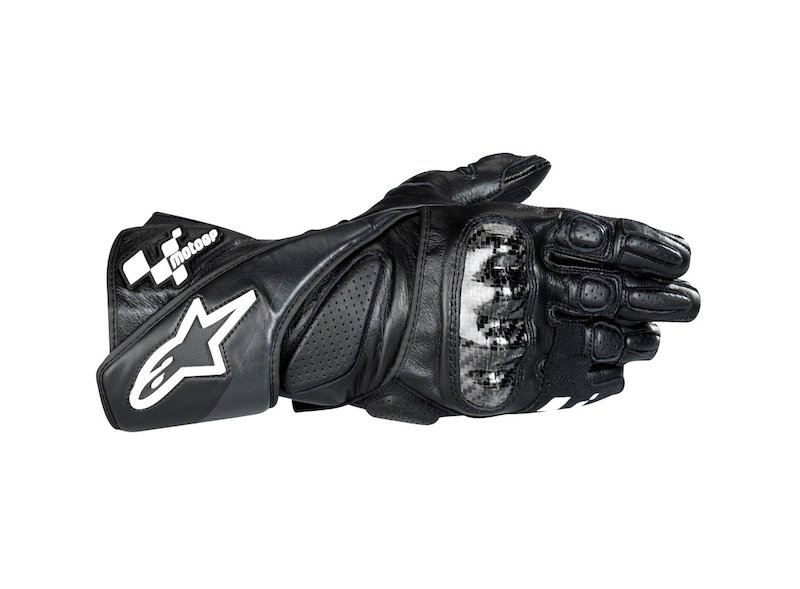 Alpinestar MotoGP™ LOSAIL sports glove (black) - Grey