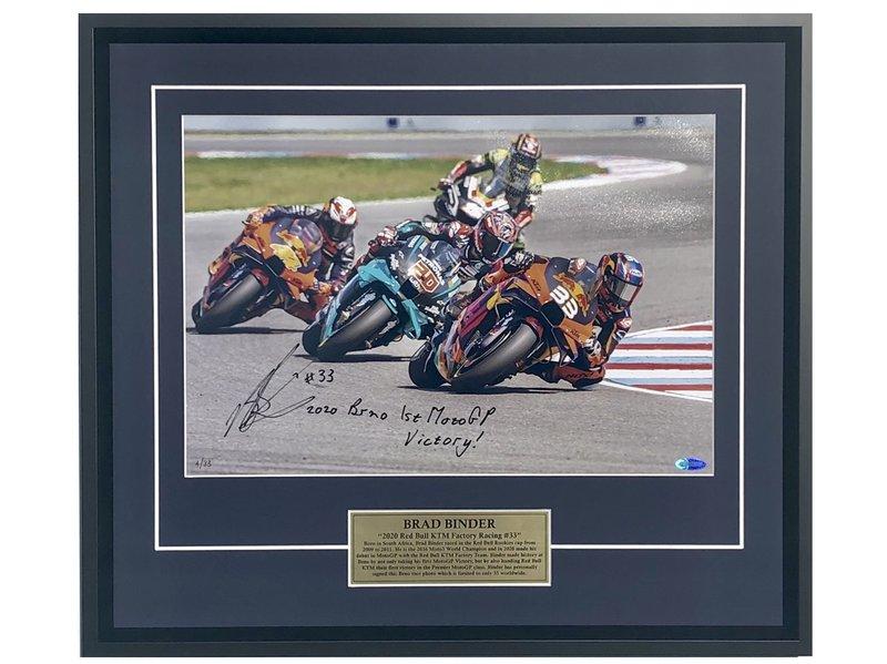Brad Binder 2020 Brno 1st MotoGP Victory