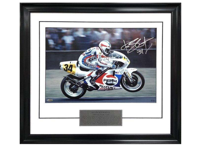 Kevin Schwantz 1989 SPA Gran Premio