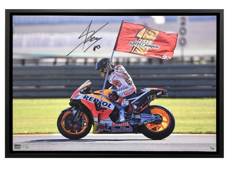 "Marc Marquez 2017 ""Big 6"" Celebration"