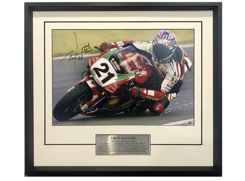 Troy Bayliss 2001 Champion du Monde SBK