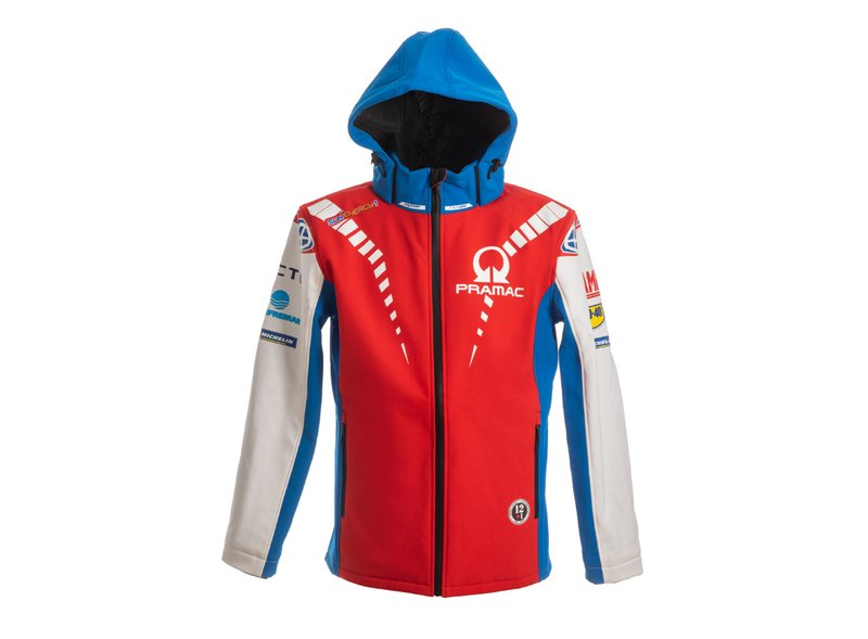 Chaqueta acolchada Pramac Racing - Red