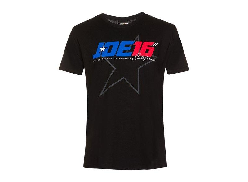 T-shirt Joe Roberts 16 Noir