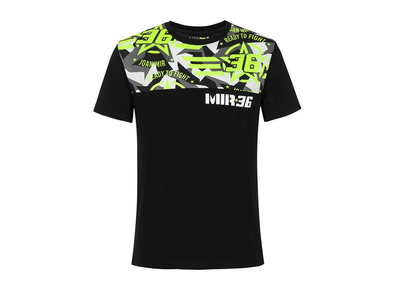 Camiseta Joan Mir Ready to Fight - Black