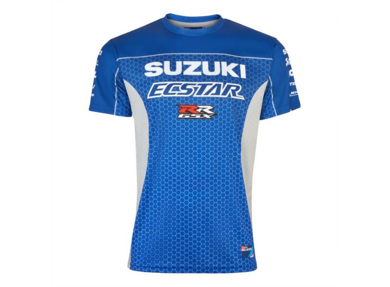 Camiseta Suzuki Ecstar Team - Blue