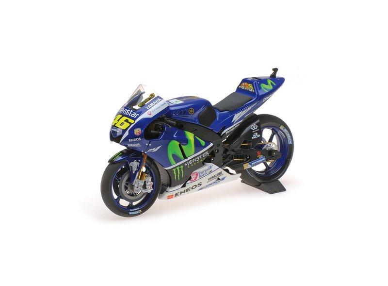 Yamaha YZR M1 Moto de pruebas Valentino Rossi 2016