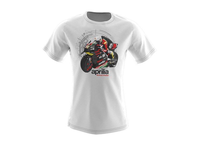 T-shirt Aprilia Racing Enfant