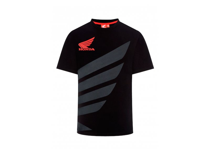 Black Honda HRC  T-Shirt - White