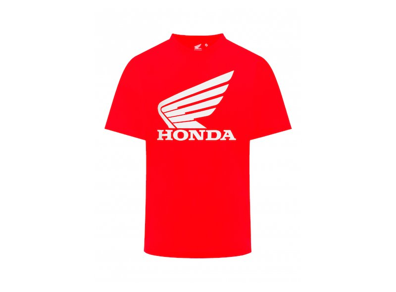 T-Shirt Official Red Honda - White