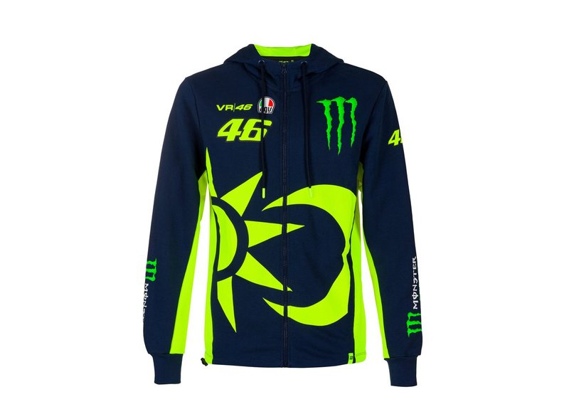Sweat-shirt Valentino Rossi Monster Sol y Luna - Blue