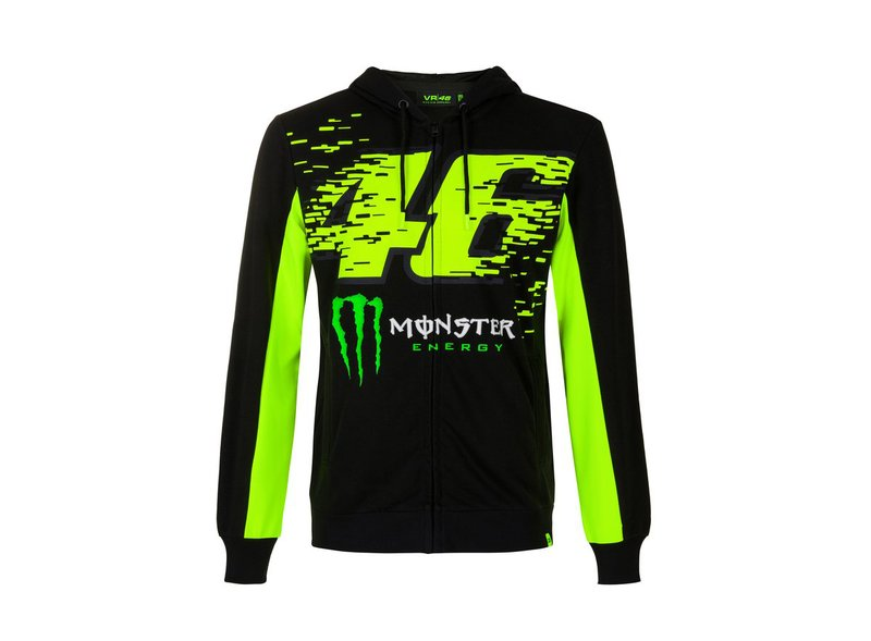 Sweat-shirt Valentino Rossi Monster 46 - Black