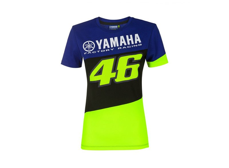 Maglietta da donna Yamaha Valentino Rossi - Blue