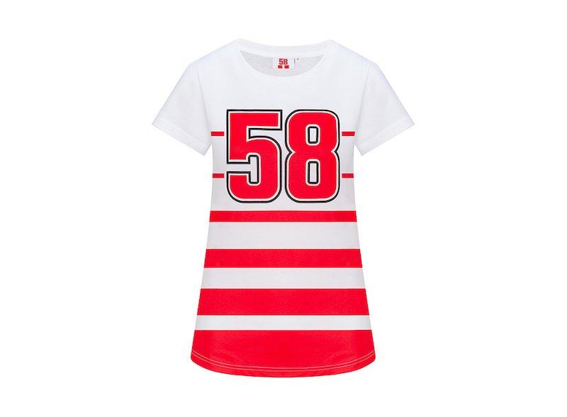 T-Shirt Femme 58 Marco Simoncelli
