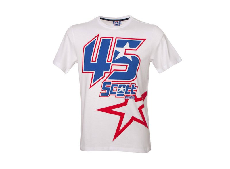 Tée-shirt Blanche Scott Redding 45