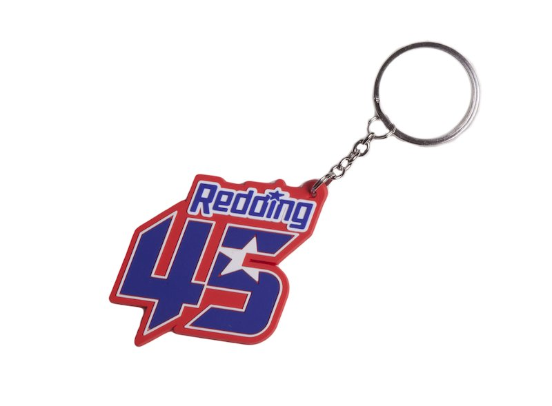 Scott Redding Key Ring - White