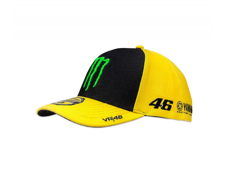 Valentino Rossi 46 Monster Yellow Cap - White