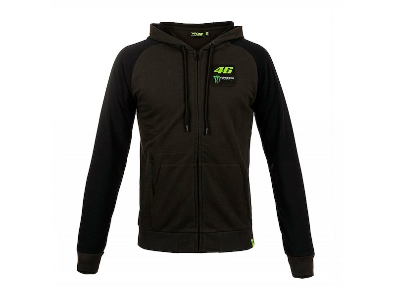 Sudadera Monster VR46 Dual - White