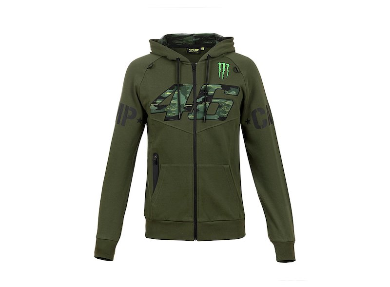 Sudadera VR46 Monster CAMP VRFORTYSIX - White