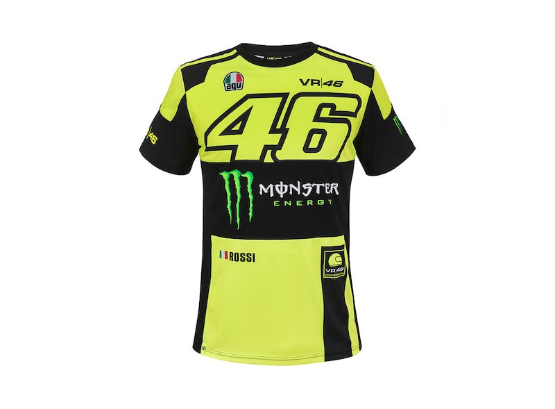 Monster VR46 Replica T-shirt - White