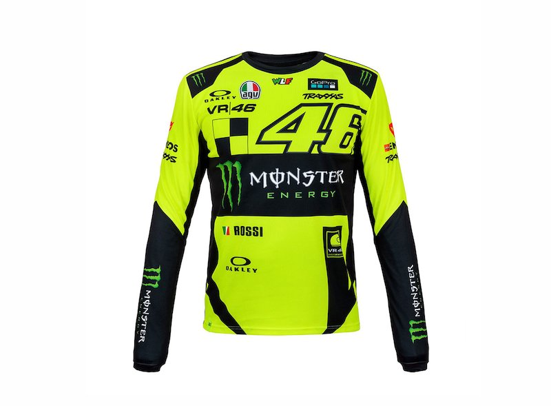 Monza VR46 Long Sleeves T-shirt