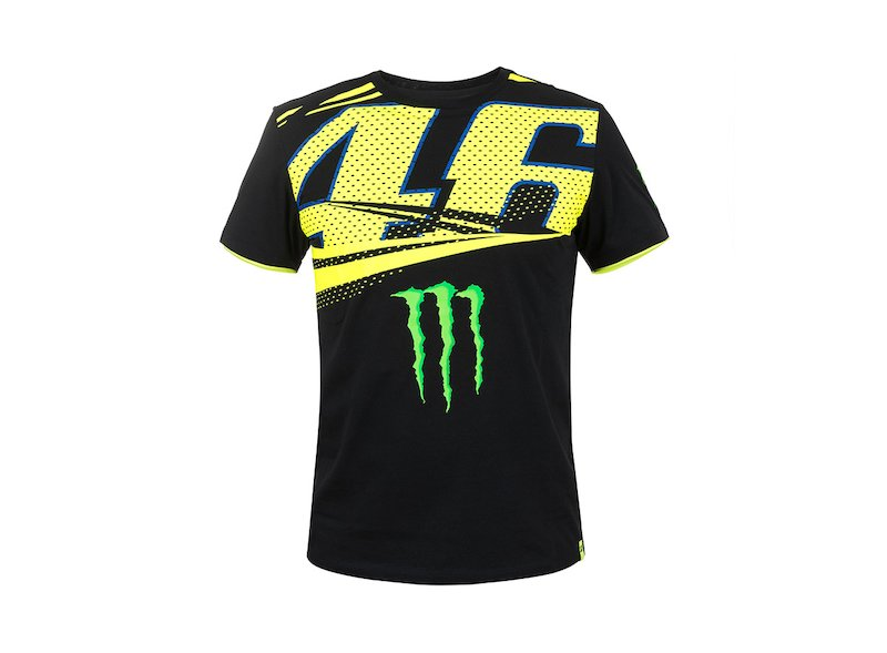 T-shirt Monster VR46 Monza - White