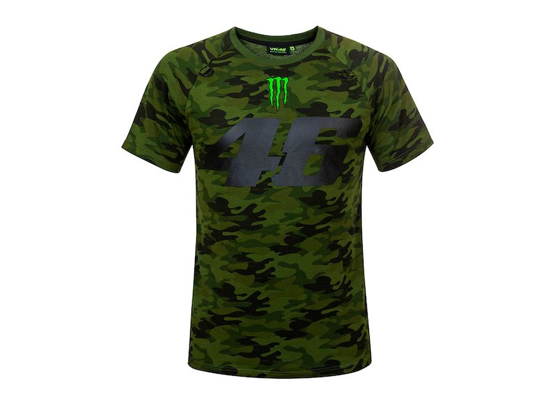 T-shirt  Monster Camp VR46 - White