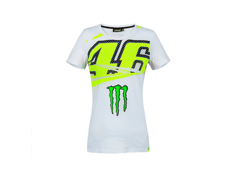 T-shirt Monster 46 Femme - White