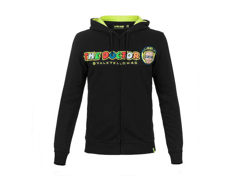 765afb90bb7 Valentino Rossi VR46 Hoodie - White
