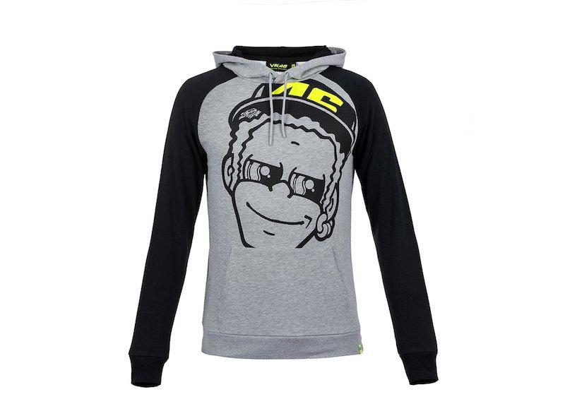 Rossi VR46 Face Hoodie