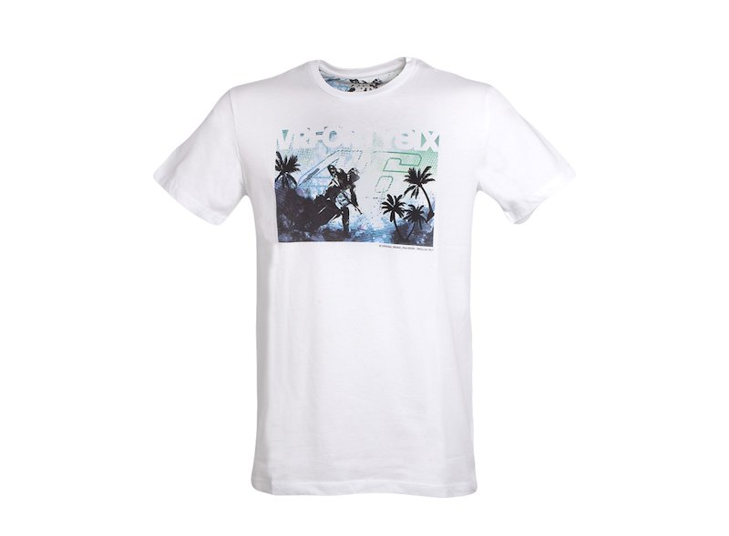 Rossi 46 Tropical T-shirt - White