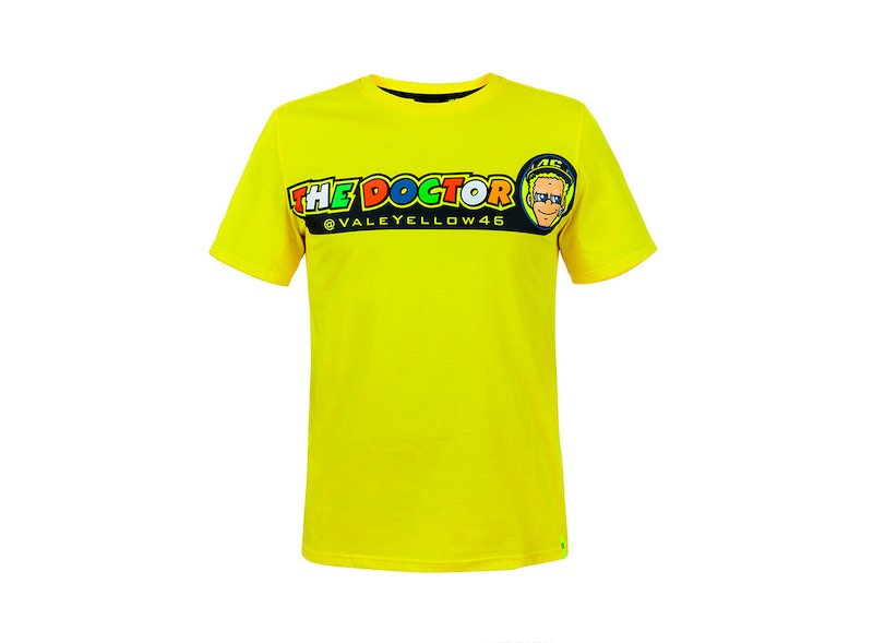 T-shirt VR46 The Doctor - White