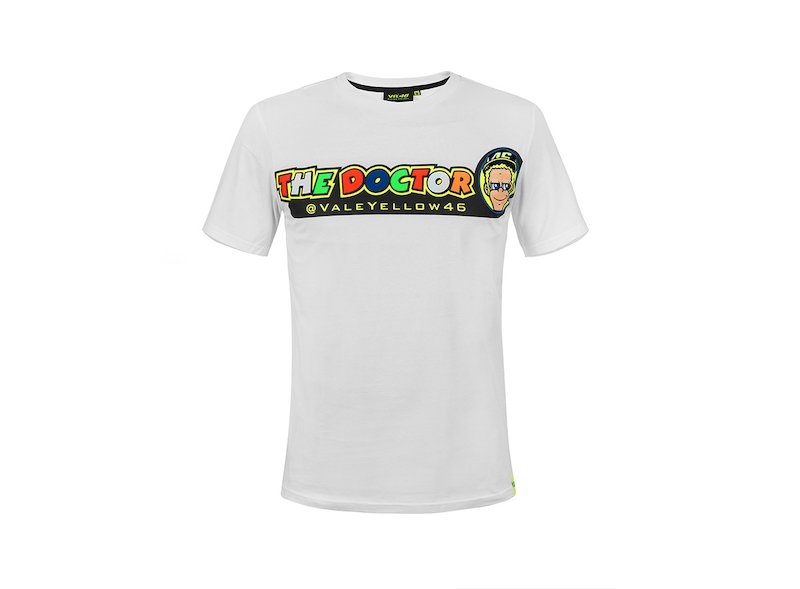 Valentino Rossi 46 The Doctor T-shirt - White