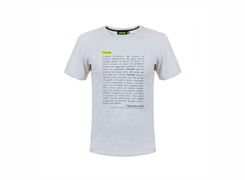 VR46 Velocità T-shirt - White