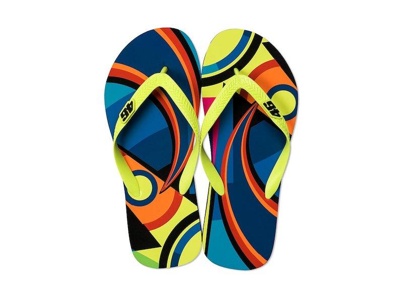 Sandalias de playa Valentino Rossi 46