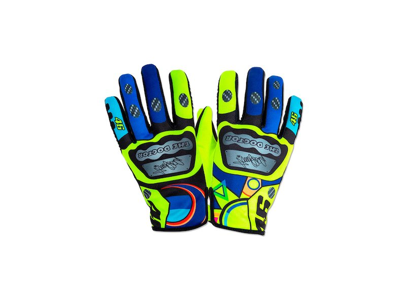 Valentino Rossi 46 Motorbike Gloves
