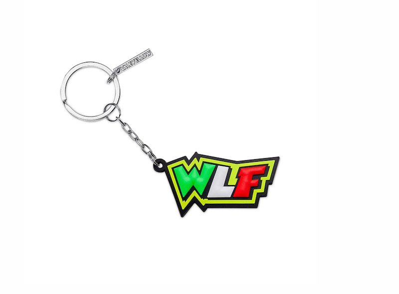 Portachiavi Rossi WLF