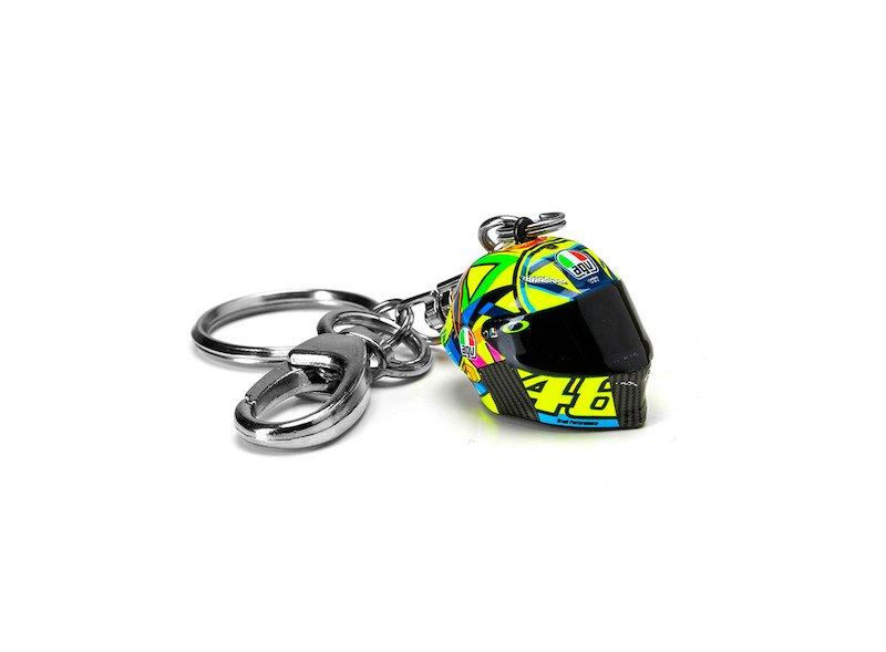 Valentino Rossi Helmet Key ring - White