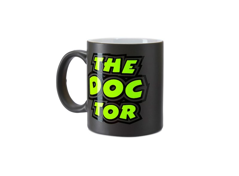 Rossi The Doctor Mug - White