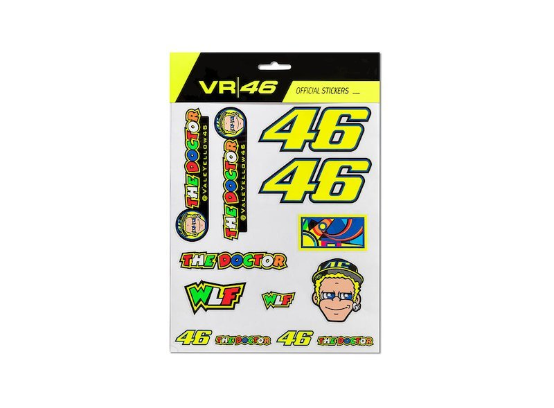 Valentino Rossi Stickers Big Set
